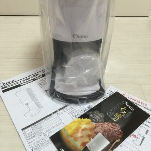 大人気の台湾風かき氷がお家で楽しめる、ドウシシャの電動ふわふわとろ雪かき氷機(DTY-16)