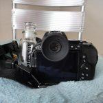 カメラ一眼レフ NIKON D5500 丸いアイピース(丸窓化)【Aby's blog】