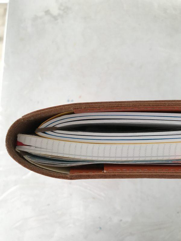 おすすめ_手帳_ジブン手帳_追加ノートの上手な綴じ方【Aby's blog】