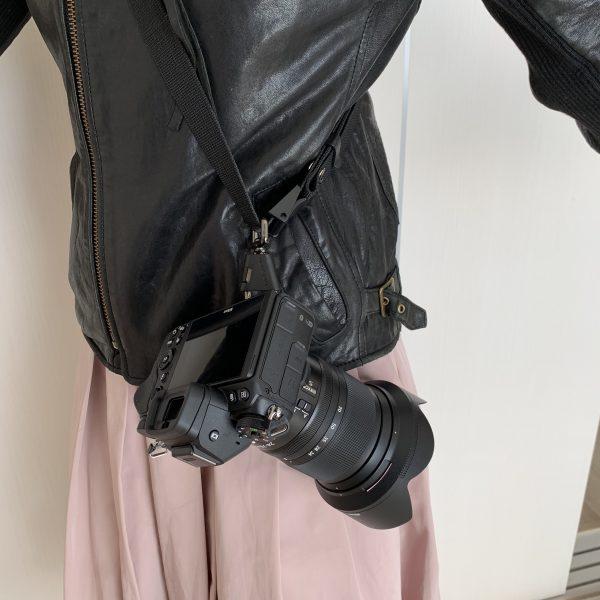 おすすめミラーレスZ6 カメラストラップ ブラックラピッド